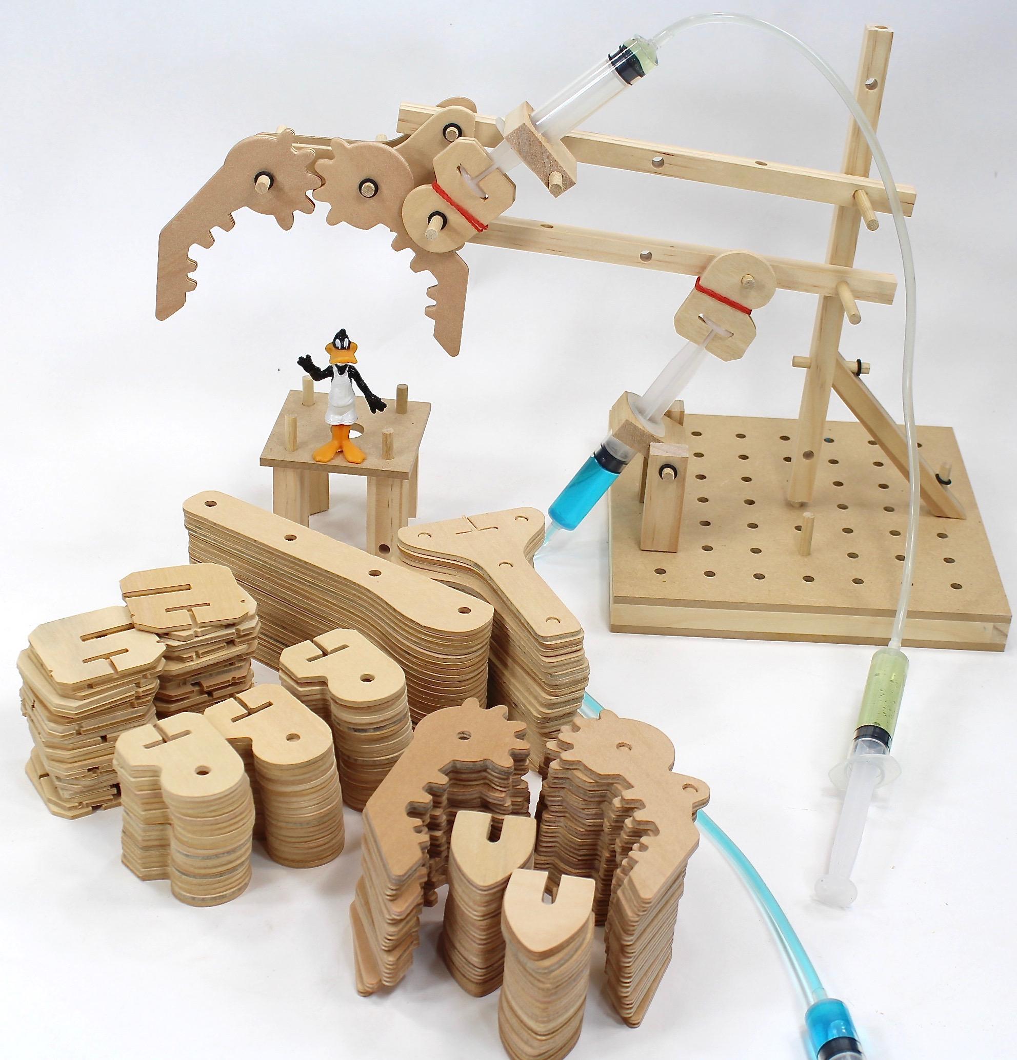 Hydraulics Maker Class Set 4